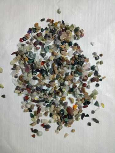 Aquarium Natural Color Mix Agate Polished Gravels Stone Chips
