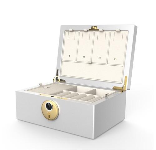 Fingerprint Authentication Security Jewelry Box