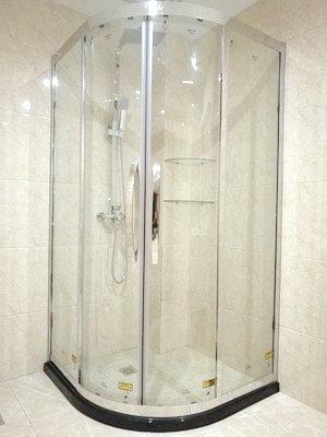 Gold Color Frame Shower Cabinet Certifications: Sgcc