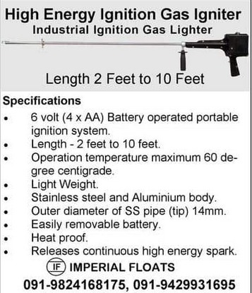 Industrial Gas Lighter