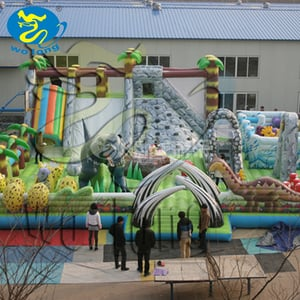 Outdoor Large Kids Giant Inflatable Slide