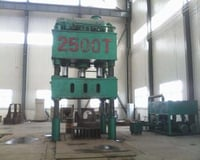 2500T Four Column Type Hydraulic Press Machine for Elbow Calibration