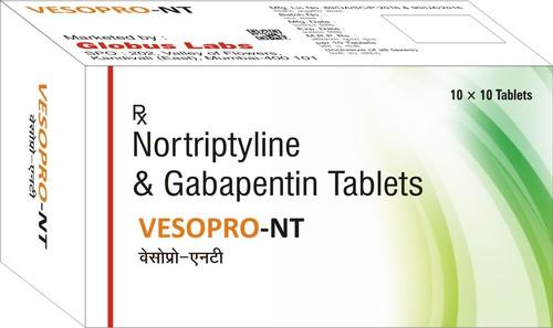 Nortriptyline And Gabapentin Tablet
