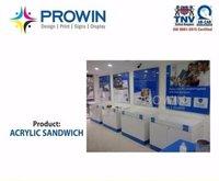 Acrylic Sandwich Machine