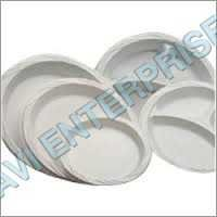 12 Inch Round Thermocol Plates