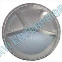4 Partition Round Thermocol Plates