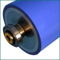 PU COATED RUBBER ROLLER