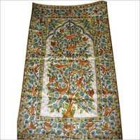Hand Embroidered Silk Rug
