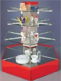 Hexagonal Gondola With Glass