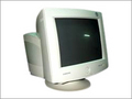 CRT Monitor with Original Base