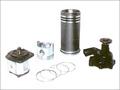 Hydraulic Pump, Liner, Piston, Rings, Water Pump