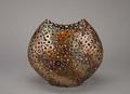 Iron Ring Vase