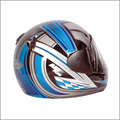 Airplus Synergy Blue Biker Helmet