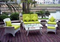 Rattan Living Room Sofa Set