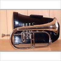 Chrome Plating Musical Flugel Horn