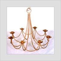 Elegant Candle Iron Chandelier