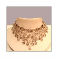 Studded Designer Choker Necklace