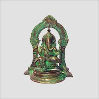 Decorative Brass Ganesha Figures