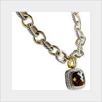 Elegant Look Silver Studded Necklace
