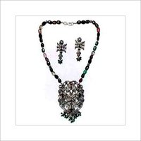 Victorian Precious Stones Necklace Set