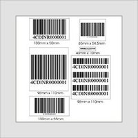 Easy To Use Printed Barcode Labels