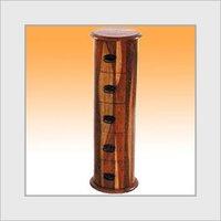 Wooden Drawer Drum Chest