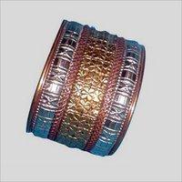 Stunning Design Carved Metal Bracelet