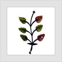 Elegant Leaves Wall Sconce