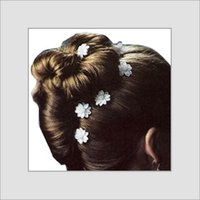 White Color Plastic Bobby Pins
