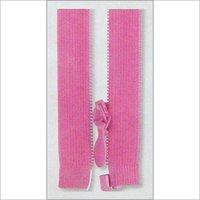 Pink Open End Zipper