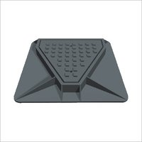 Single Triangular Cover Grate And Frame
