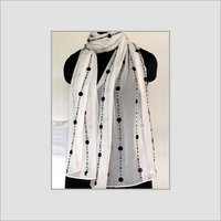 Designers Silk Embroidered Scarves