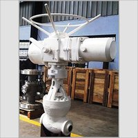 Motorized High Pressure Globe Valve