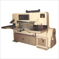 FULLY AUTOMATIC PAPER HYDRAULIC CLAMP GUILLOTINE