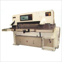 High Speed Programmable Paper Guillotine