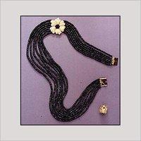 Black Color Sapphire String