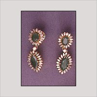 Green Emeralds Earrings