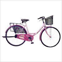 Ladies Bicycle With Front Carrier