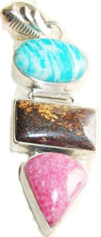 Multi Gem Pendants