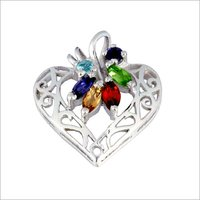 Heart Shape Silver 925 Pendants