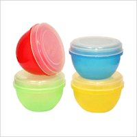 Multicolor PP Storage Containers