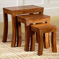 Plain Pure Wooden Table