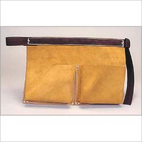 Nail Pouch Strong Suede Split Leather