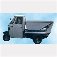 Strong Construction Three Wheeler Tipper