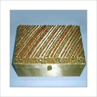 Golden Indian Style Jewellery Box