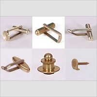 Light Weight Brass Cufflinks