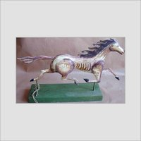 DECORATIVE IRON HORSE