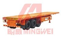 Frame Container Semi Trailer