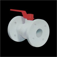 Pp One Piece Flange End Ball Valve