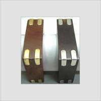 Wooden Handcrafted Square Bangle